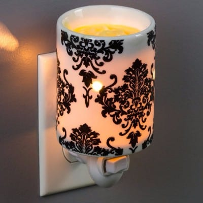 plugin fragrance wax melt warmers damask