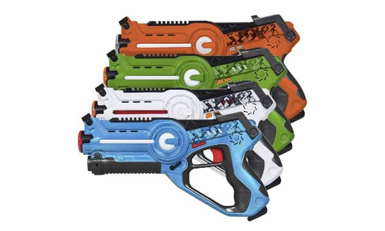 Top 10 Best Laser Tag Guns Review In 2021 (With Buying Guides)