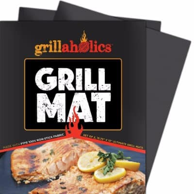 Grillaholics Grill Mat, Set of 2