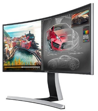 Samsung S34E790C Curved 4K Monitor, 34-Inch