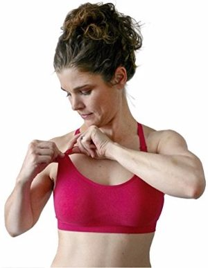 Bamboobies Seamless Yoga Nursing Bra