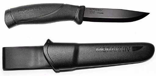 Morakniv Companion Fixed Blade Outdoor Knife, 4.1-Inch