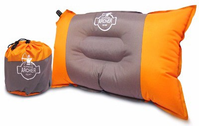 Archer Compressible Self Inflating Camping Pillow