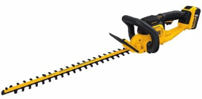 DEWALT DCHT820P1 Max Hedge Trimmer with, 20V, 5AH Pack