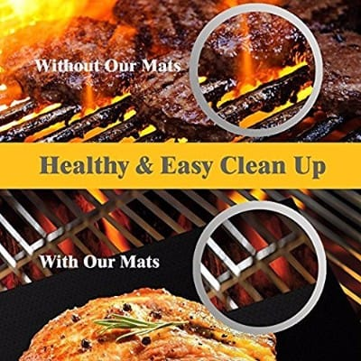 DeroTeno BBQ Grill Mat set of 3