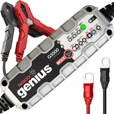 NOCO Genius G3500 6V 12V 3.5A UltraSafe Smart Battery Charger