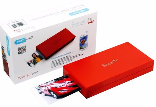 SereneLife - Portable Instant Mobile Photo Printer - Wireless Color Picture