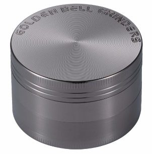 Golden Bell 4 Piece Herb and Spice Grinder, 2 –inch