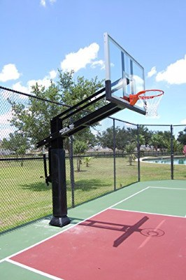 Pro Dunk Diamond Ultimate In-ground Basketball System