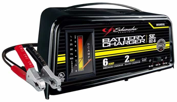 Schumacher SE-82-6 Dual-Rate 2_6 Amp Manual Battery Charger