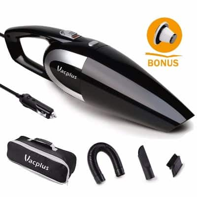 Vacplus DC 12V Portable Handheld Vacuum Cleaner for Car