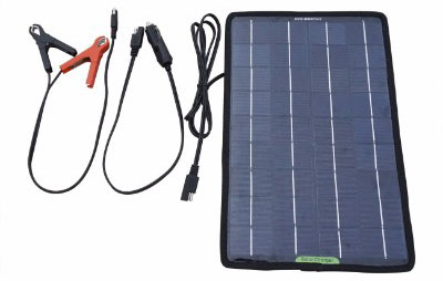 ECO-WORTHY 12 Volts 10 Watts Portable Power Solar Panel Battery Charger