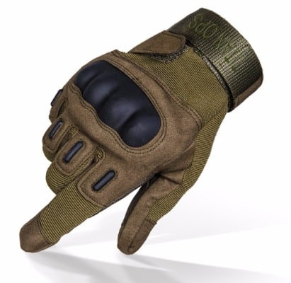 TitanOPS Gear Hard Knuckle Military Outdoor Motorcycle Gloves