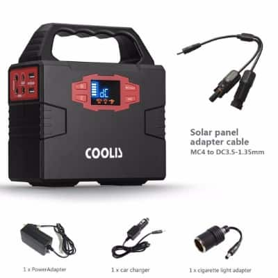Coolis 150Wh Portable Power Inverter Generator