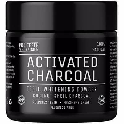 Pro Teeth Whitening Co Activated Natural Charcoal Teeth Whitening Powder