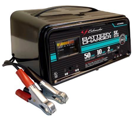 Schumacher SE-5212A 2_10_50 Amp Automatic Handheld Battery Charger