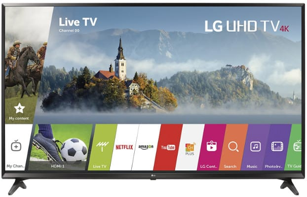 LG Electronics 49UJ6300 49-Inch 4K Ultra HD Smart TV