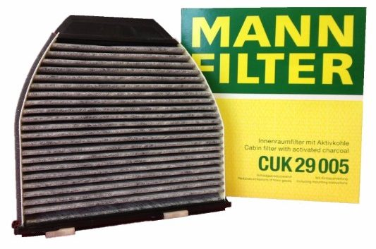 Mann Filter Carbon Activated Cabin Air Filter (CUK 29 005)