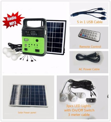 Wegner 10-Watt Solar Generator Portable kit