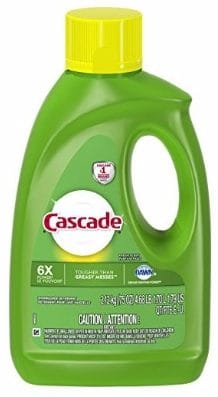 Cascade Complete Gel Dishwasher Detergent, 75 Oz, Fresh Scent