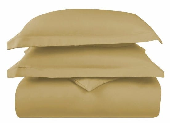 HC COLLECTION Hotel Luxury Duvet Cover Set, 3 pc