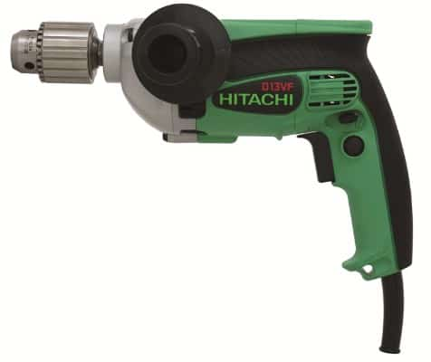 Hitachi D13VF 1:2-Inch Drill, 9-Amp, EVS Reversible