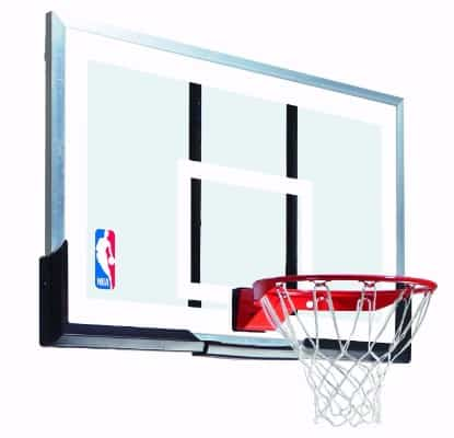 Spalding 54-Inch Acrylic Backboard and Rim
