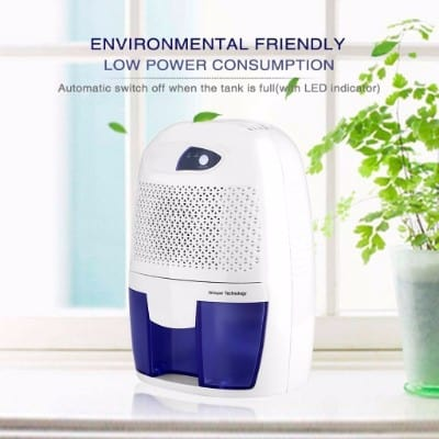 PeGear Mini Portable Electric Dehumidifier, 500ML