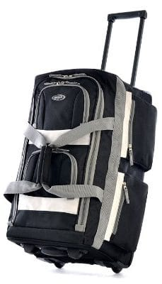 Olympia Luggage 29_ 8 Pocket Rolling Duffel Bag