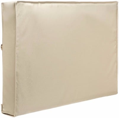 Outdoor TV Cover - Weatherproof Universal Protector for 40_ - 42_ LCD, LED – Beige