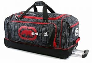 Ecko Unltd Steam Large Rolling Duffel Bag, 32-inch