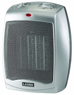 Lasko 754200 Ceramic Heaters with Adjustable Thermostat