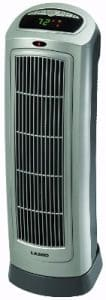 Lasko 755320 Ceramic Tower Heaters with Digital Display and Remote Control