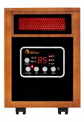 Dr. Infrared Heater Portable Space Heaters, 1500-Watt