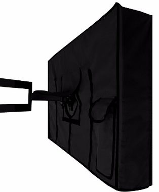 Outdoor TV Cover, PANTHER Series Weatherproof Universal Protector for 46_ - 48_