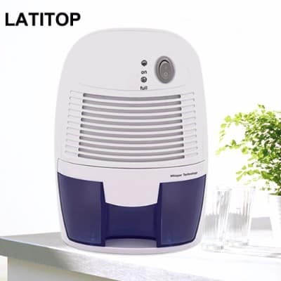Latitop Small Electric Dehumidifier, 500ml