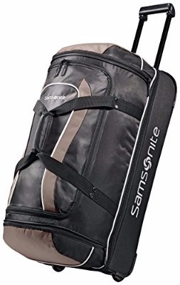 Samsonite Luggage Andante Drop Bottom Rolling Duffel Bag, 28-inch