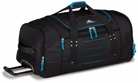 High Sierra Ultimate Access 2.0 Drop-Bottom Wheeled Duffel