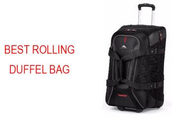Best Rolling Duffel Bag