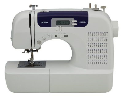 Brother CS6000i Feature-Rich Sewing Machine With 60 Built-In Stitches, 7 styles of 1-Step