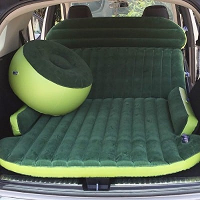 Merging Inflatable Travel Car Air Bed for SUV and MPV