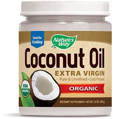 Nature's Way Organic Pure Extra Virgin Natural Coconut Oil- Pure, 32 Oz.