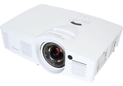 Optoma GT1080Darbee 1080p 3D DLP Short Throw Gaming Projector, 3000 Lumens