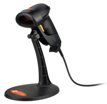 TaoTronics USB Barcode Scanner Wired Handheld Laser Bar Code Scanner Automatic