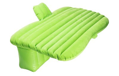 Pinty Inflatable Car Air Bed, Green