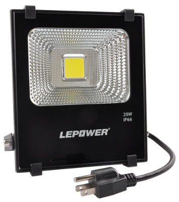 LEPOWER New Craft LED Flood Lights, 20W