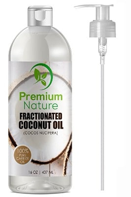 Premium Nature Fractionated Pure Coconut Oil