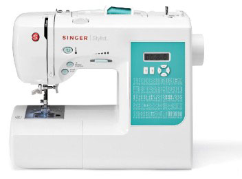 SINGER 7258 Stylist Award-Winning 100-Stitch Computerized Free-Arm Sewing Machine