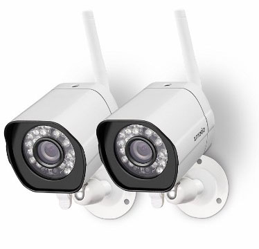 Zmodo Wireless Security Camera -Smart HD Outdoor WiFi IP Cameras with Night Vision