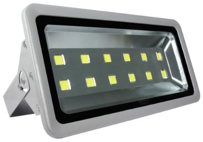 Morsen 600W Outdoor Flood Light, Silver